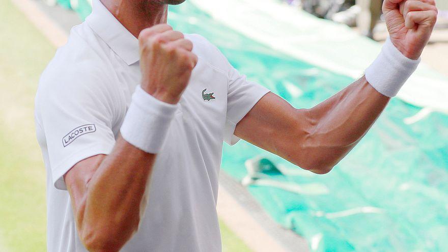 Djokovic bate Anderson e conqusita Wimbledon