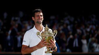 Ο Νόβακ Τζόκοβιτς «βασιλιάς» του Wimbledon