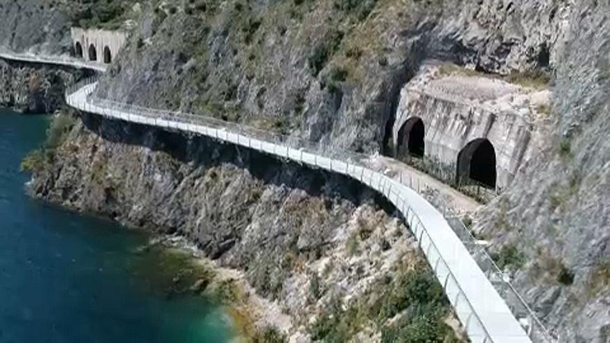 Már lehet tekerni a Garda-tó körül