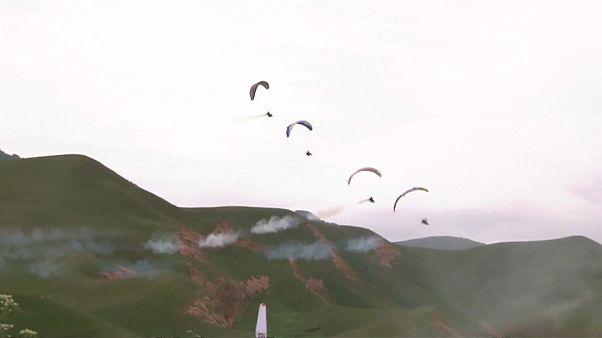 الصين تستضيف مهرجان الطيران الدولي الحر لكأس إيكاروس