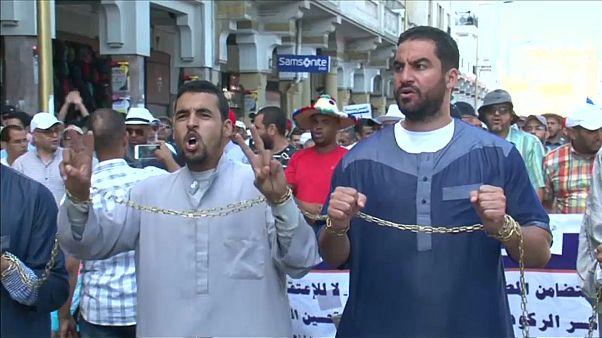 Marcha en Rabat por la libertad para los activistas del Rif