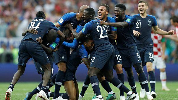 Franciaország nyerte a futball világbajnokságot