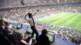 Fransa Cumhurbaşkanı Macron'dan 'abartılı' şampiyonluk sevinci