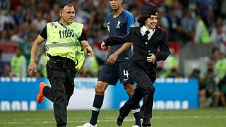 Pussy Riot invade pitch during World Cup final