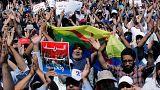Proteste in den Straßen von Rabat