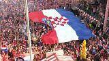 Les Croates fiers de leur équipe de football