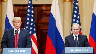 Trump and Putin press conference