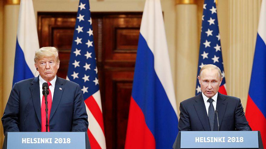 Trump and Putin press conference