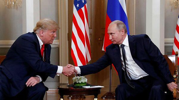 پایان دیدار پوتین و ترامپ در هلسینکی؛ ترامپ: شروع خوبی بود