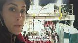 Um 21 Uhr auf euronews - TV-Doku: Die Geschichte der Flüchtlinge auf der Aquarius