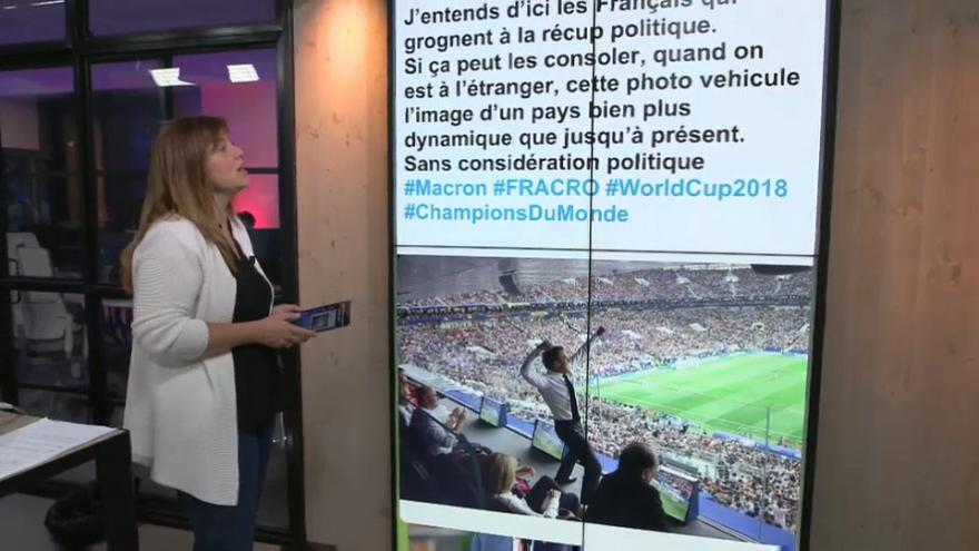 Mondial 2018 : 5 tweets par seconde #FRACRO