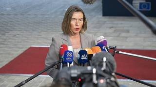 La cheffe de la diplomatie de l'UE Federica Mogherini