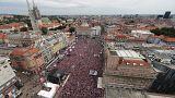Los croatas se preparan para recibir a sus jugadores como héroes
