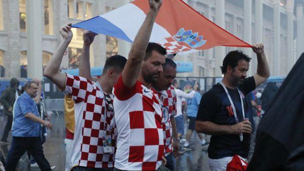 جيران كرواتيا بالبلقان انقسموا حول دعمهم للفريق في كأس العالم