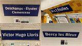 Deschamps Elysées: la metro di Parigi cambia il nome alle stazioni