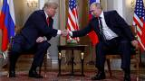 Donald Trump says he hopes for 'extraordinary relationship' with Vladimir Putin as two leaders meet for key US-Russia summit in Finland