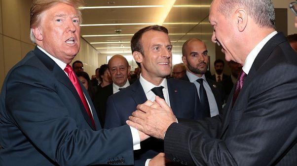 Cumhurbaşkanı Erdoğan ile Başkan Trump Suriye'yi görüştü
