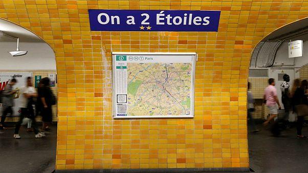 نامگذاری ایستگاههای متروی پاریس به افتخار کسب دومین جامجهانی
