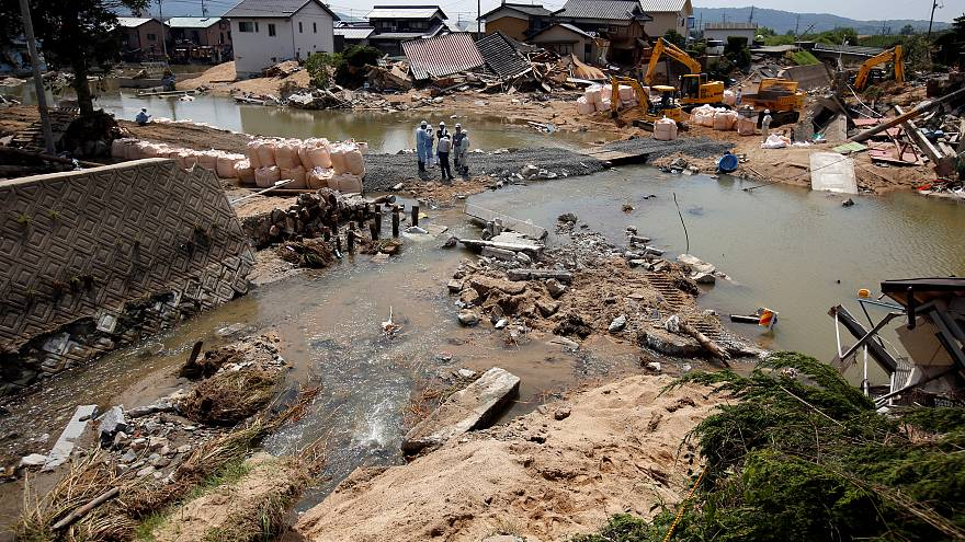 بعد الفيضانات... اليابان يواجه ارتفاع شديد لدرجات الحرارة