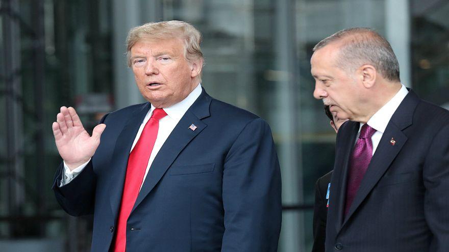 إردوغان وترامب يؤكدان أن تطبيق اتفاق منبج سيسهم في حل الأزمة السورية