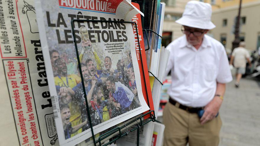 """Mondial : """"le jour de gloire est arrivé"""" pour la presse française"""