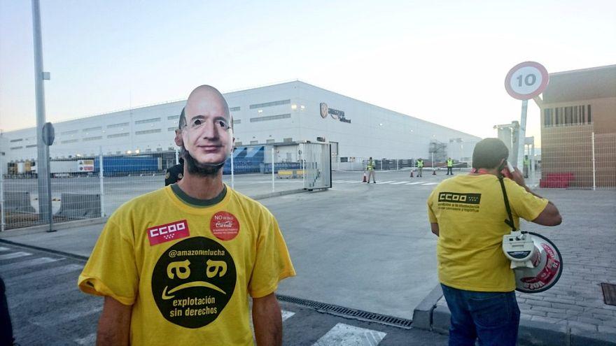 Amazon-Mitarbeiter in mehreren Ländern streiken