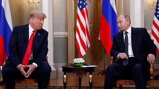 Rencontre entre Donald Trump et Vladimir Poutine