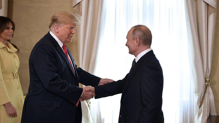Trump und Putin in Helsinki