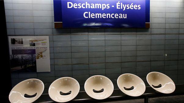 Las estaciones de metro parisinas tuneadas para los héroes del Mundial