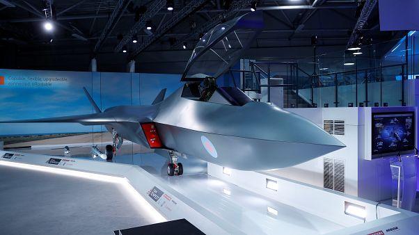 Presentan Tempest, el cazabombardero británico para suceder al Eurofighter