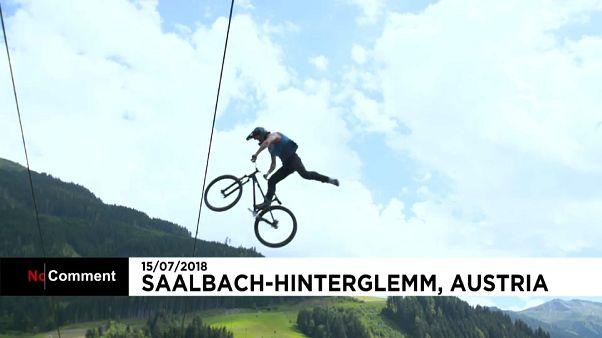 L'Autriche vibre au rythme du Glemmride Bike Festival