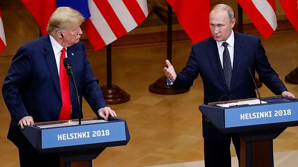 کنفرانس خبری ترامپ و پوتین؛ اعلام رضایت دو طرف از نشست هلسینکی