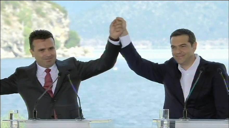 La russofobia fra la Macedonia e la Grecia