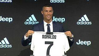 رونمایی از رونالدو در باشگاه یوونتوس