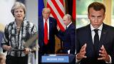 Live updates: Trump-Putin fallout, Brexit turmoil and Macron reforms