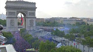 Frankreich feiert seine Weltmeister - Ein Sommermärchen à la française.