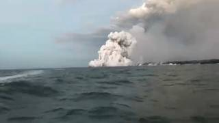 """""""Lava bombs"""" injures 23 on boat trip in Hawaii"""