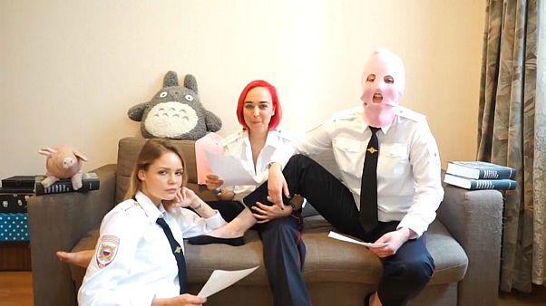 15 Tage Arrest für WM-Flitzer von Pussy Riot