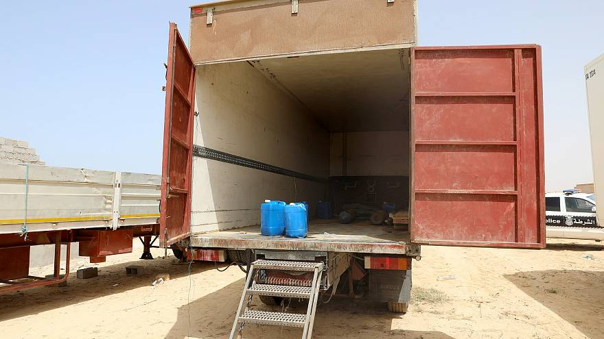 Menschenhandel: 6 tote Kinder im Kühllaster in Libyen