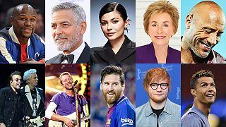 پردرآمدترین مشاهیر امسال جهان کدامند؟