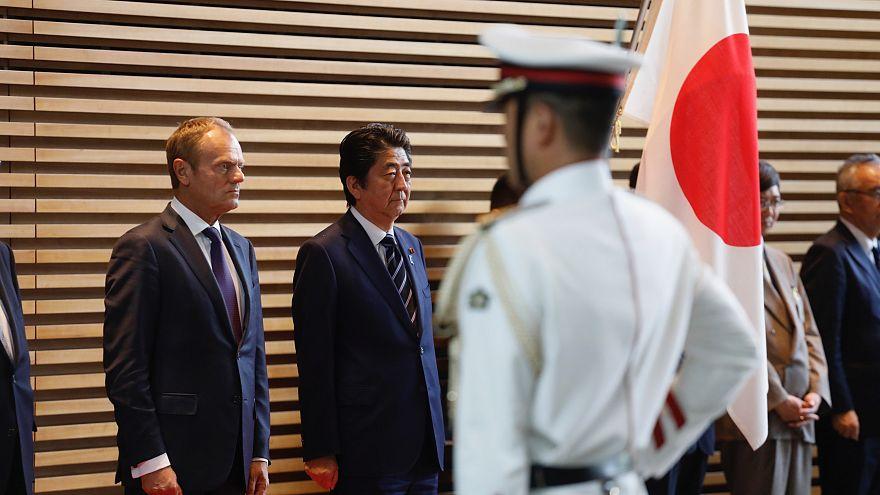 EU and Japan sign historic trade deal