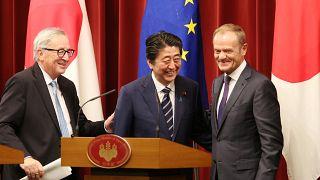 Le Japon et l'UE signent un accord ambitieux de libre-échange