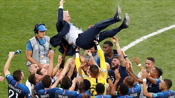 Didier Deschamps entre dans la légende bleue