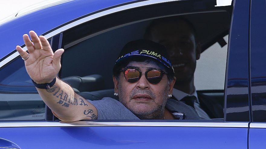 Fehéroroszországba szerződött Maradona