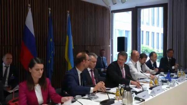 ЕС, Украина и Россия обсудили газовый транзит