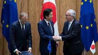 ΕΕ και Ιαπωνία υπογράφουν ιστορική εμπορική συμφωνία