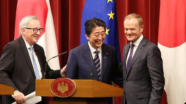 Япония и ЕС будут торговать без пошлин
