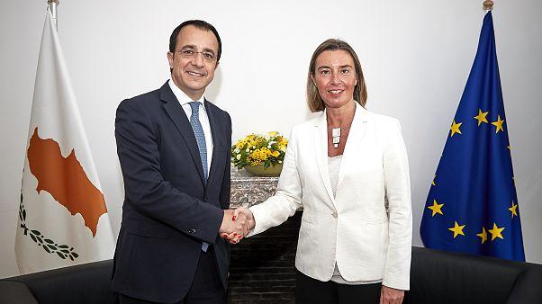 Κυπριακό και Μέση Ανατολή στην συνάντηση Χριστοδουλίδη-Μογκερίνι