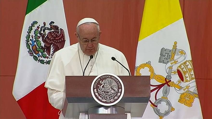 Il Papa non parteciperà al forum di pace in Messico