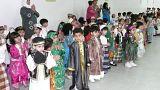 صورة عامة لأطفال في روضة أطفال في السعودية